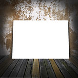 Sheet of a paper in a room Stock Photography