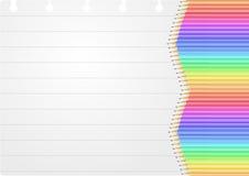 Sheet pencil Stock Image