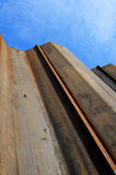Sheet piling Stock Photography