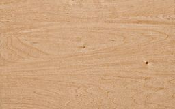 Sheet of plywood made of lime wood Stock Image