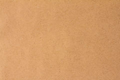 Sheet of recycle brown paper useful as a background Royalty Free Stock Photos