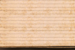 Sheet of stained lined paper, Vintage Grungy Lined Paper Royalty Free Stock Images