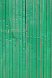 Sheet steel green wall Stock Photo