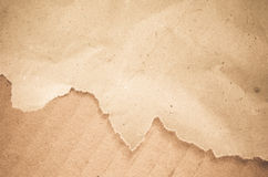 A sheet of torn paper Royalty Free Stock Images