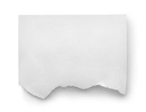 Sheet of white paper Royalty Free Stock Image