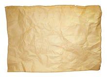 Sheet of Worn Paper Stock Photos