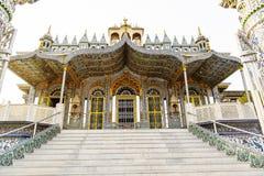 Sheetalnathji Jain Temple  in Kolkata,  India Stock Photos