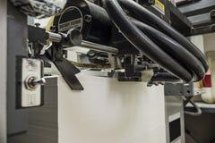Sheetfed kompensuje drukową maszynę obrazy stock