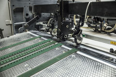 Sheetfed offset print machine Royalty Free Stock Photos