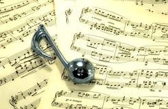 Sheetmusic stock image