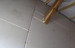 sheetrock изоляции стоковая фотография