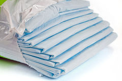 Sheets. Packing of sheets, it is  on a white background Stock Photo