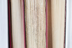 Sheets of books Stock Images