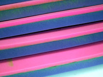 Sheets of foam rubber Royalty Free Stock Photography