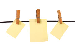 Sheets for notes Stock Photos