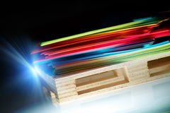 Sheets of paper Stock Image