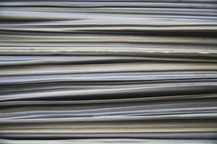 Sheets of paper. Stack of sheets of paper Stock Photos