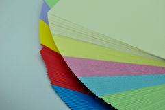 Sheets of paper unfolded Royalty Free Stock Photos
