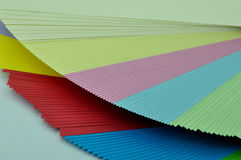 Sheets of paper unfolded Royalty Free Stock Photography