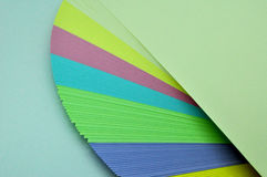 Sheets of paper unfolded Royalty Free Stock Images