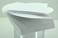 Sheets of paper unfolded Royalty Free Stock Photo