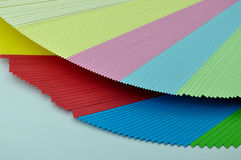 Sheets of paper unfolded Royalty Free Stock Image