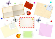 Sheets - reminders Stock Images