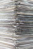 Sheets of role piled Stock Photo
