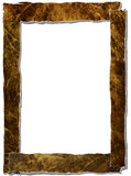 Sheets of torn paper  forming frame Royalty Free Stock Photo