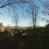 Sheffield beskådade från skurkar Arkivfoto