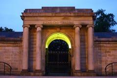 Sheffield Botanical Gardens Entrance Royalty Free Stock Images