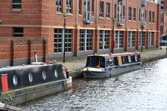 Sheffield canal Royalty Free Stock Photo
