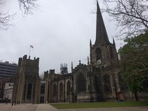 Sheffield Cathedral Royalty-vrije Stock Afbeelding