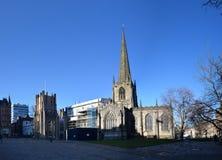Sheffield Cathedral, Sheffield, het UK royalty-vrije stock fotografie