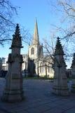 Sheffield Cathedral, Sheffield, Regno Unito fotografia stock libera da diritti