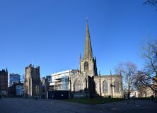 Sheffield Cathedral, Sheffield, Reino Unido fotografia de stock royalty free