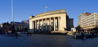 Sheffield City Hall, Sheffield, Regno Unito Fotografie Stock Libere da Diritti