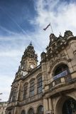Sheffield City Town Hall, Sheffield, South Yorkshire, Gro?britannien - September 2013 stockbild