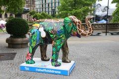 Sheffield Elephant Arkivfoto