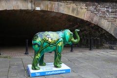 Sheffield Elephant Royaltyfri Bild