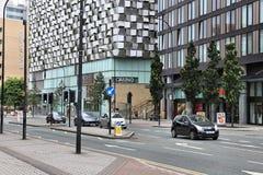 Sheffield gata Fotografering för Bildbyråer