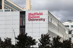 Sheffield Hallam University arkivbilder