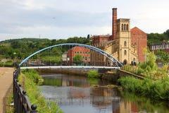 Sheffield, het UK stock afbeelding