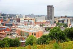 Sheffield het UK royalty-vrije stock afbeeldingen