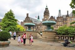 Sheffield, Inghilterra immagini stock libere da diritti