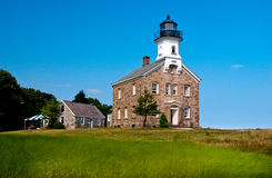 Sheffield Island Lighthouse is Considered to be Haunted. As some observers have heard strange music and sounds near the tower Stock Images