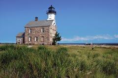 Sheffield Island Lighthouse em Norwalk, CT fotografia de stock royalty free