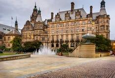 Sheffield Millenium Square Reino Unido imagem de stock