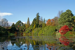 Sheffield Park royaltyfria foton