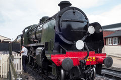 SHEFFIELD PARK, SUSSEX/UK - JULY 26 : U class locomotive at Shef Royalty Free Stock Photos